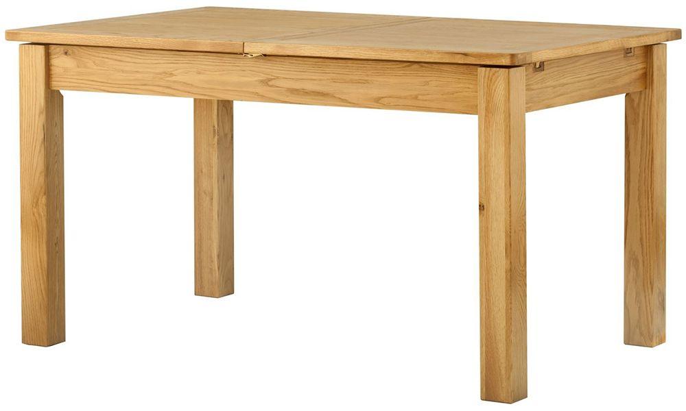 provence oak extending dining table oldrids downtown oldrids co ltd. Black Bedroom Furniture Sets. Home Design Ideas
