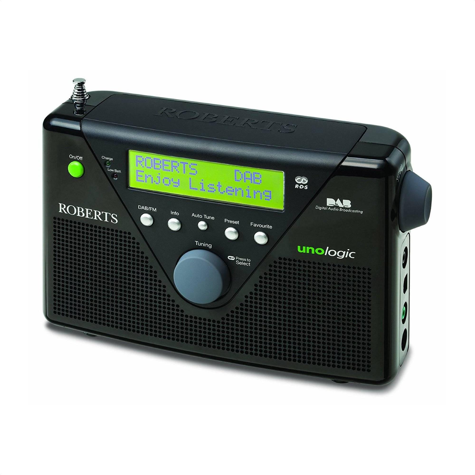 Roberts Unologic Dab Fm Portable Radio Oldrids Down Loading Zoom