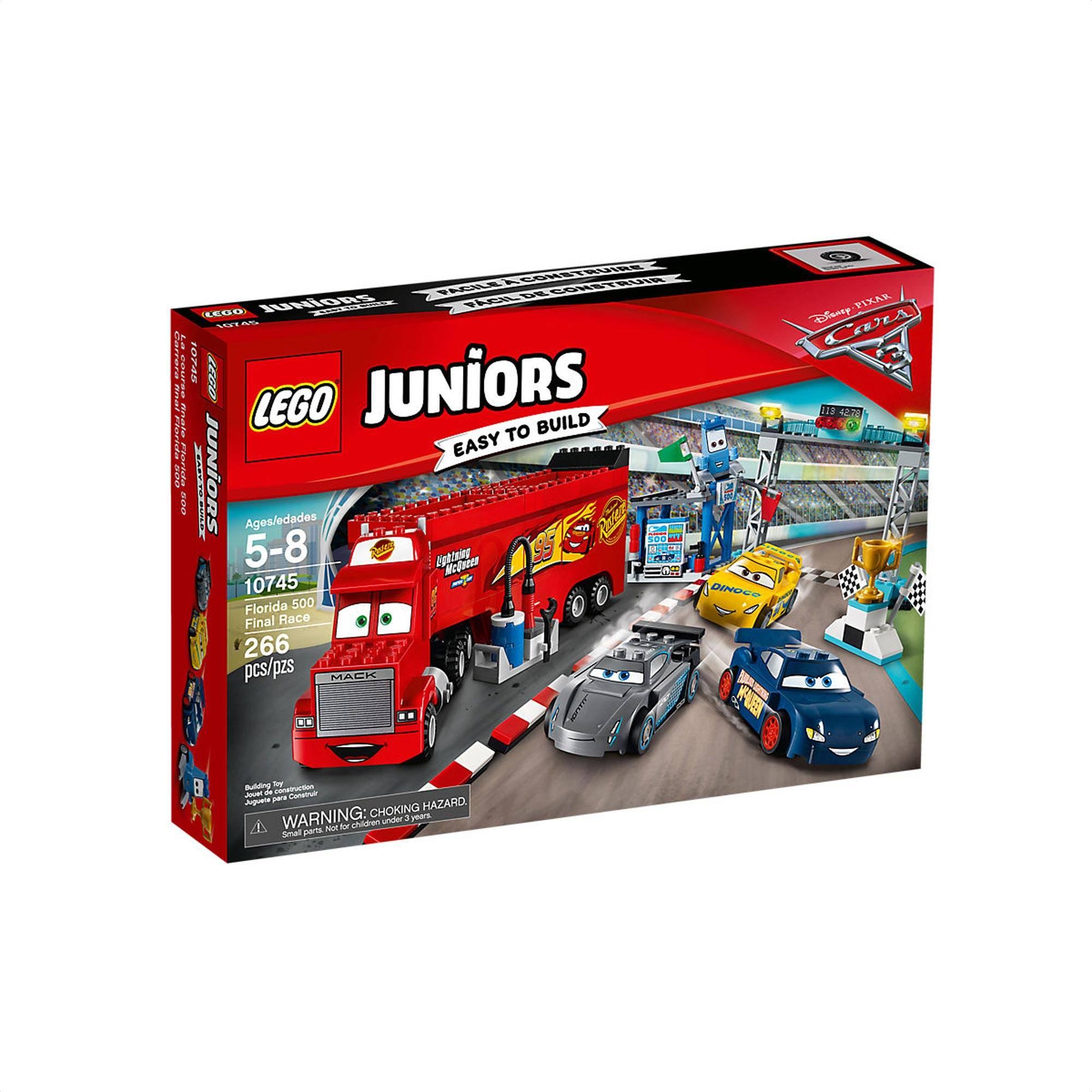 Lego Junior Cars Final Race