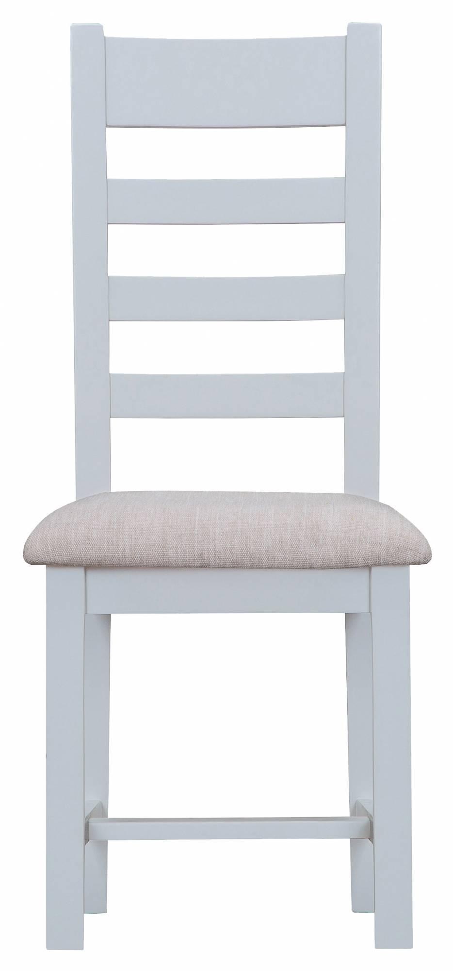 Tetbury Grey Dining Chair With Ladder Back u0026 Fabric Seat. Loading zoom  sc 1 st  Oldrids & Tetbury Grey Ladder Back Dining Chairs | Oldrids u0026 Downtown