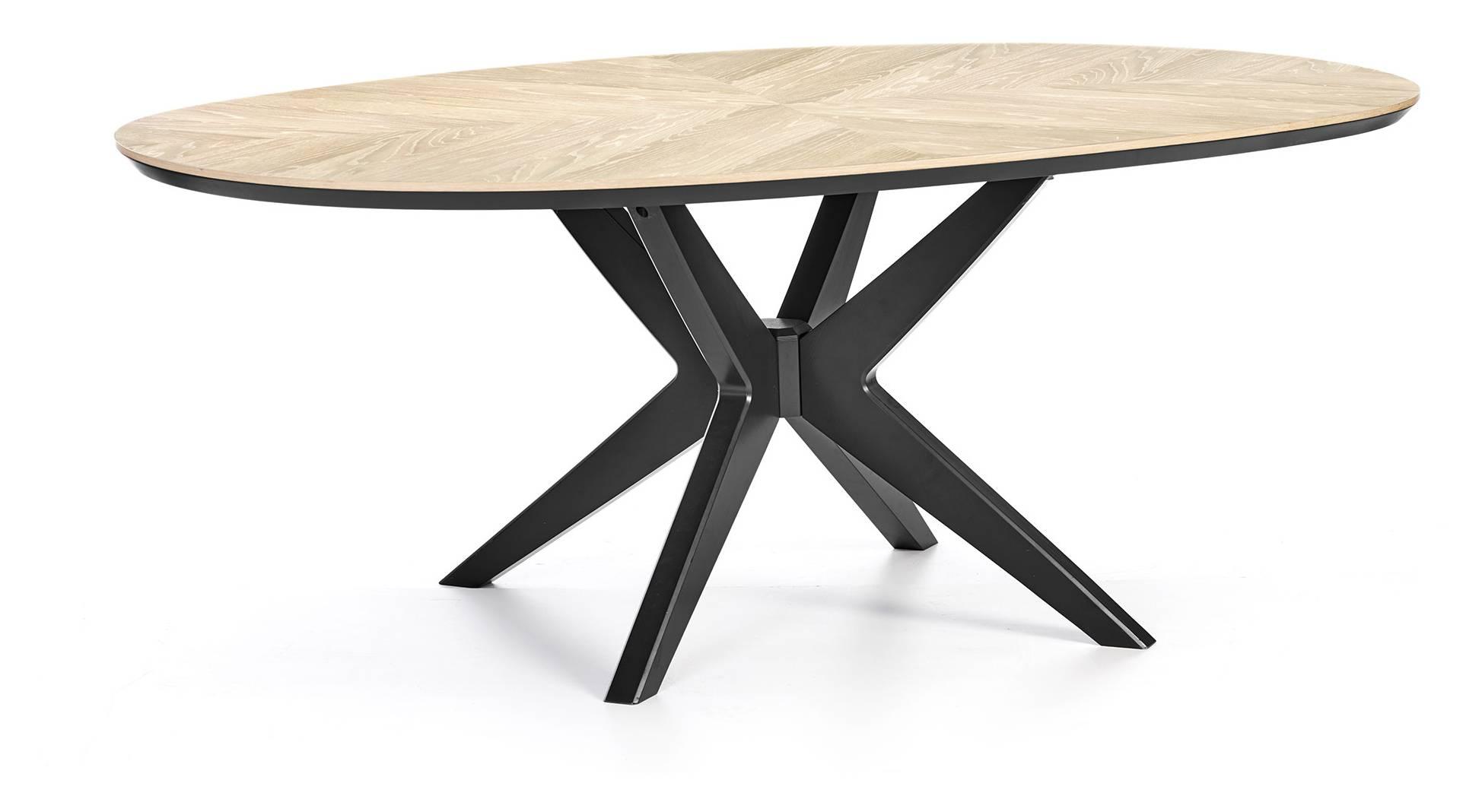 Quebec Elliptical Dining Table