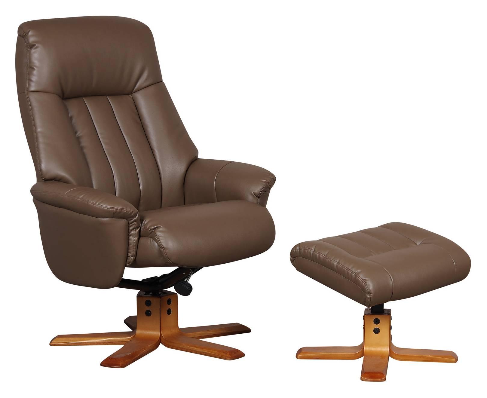 Tremendous Toledo Swivel Recliner Footstool Creativecarmelina Interior Chair Design Creativecarmelinacom