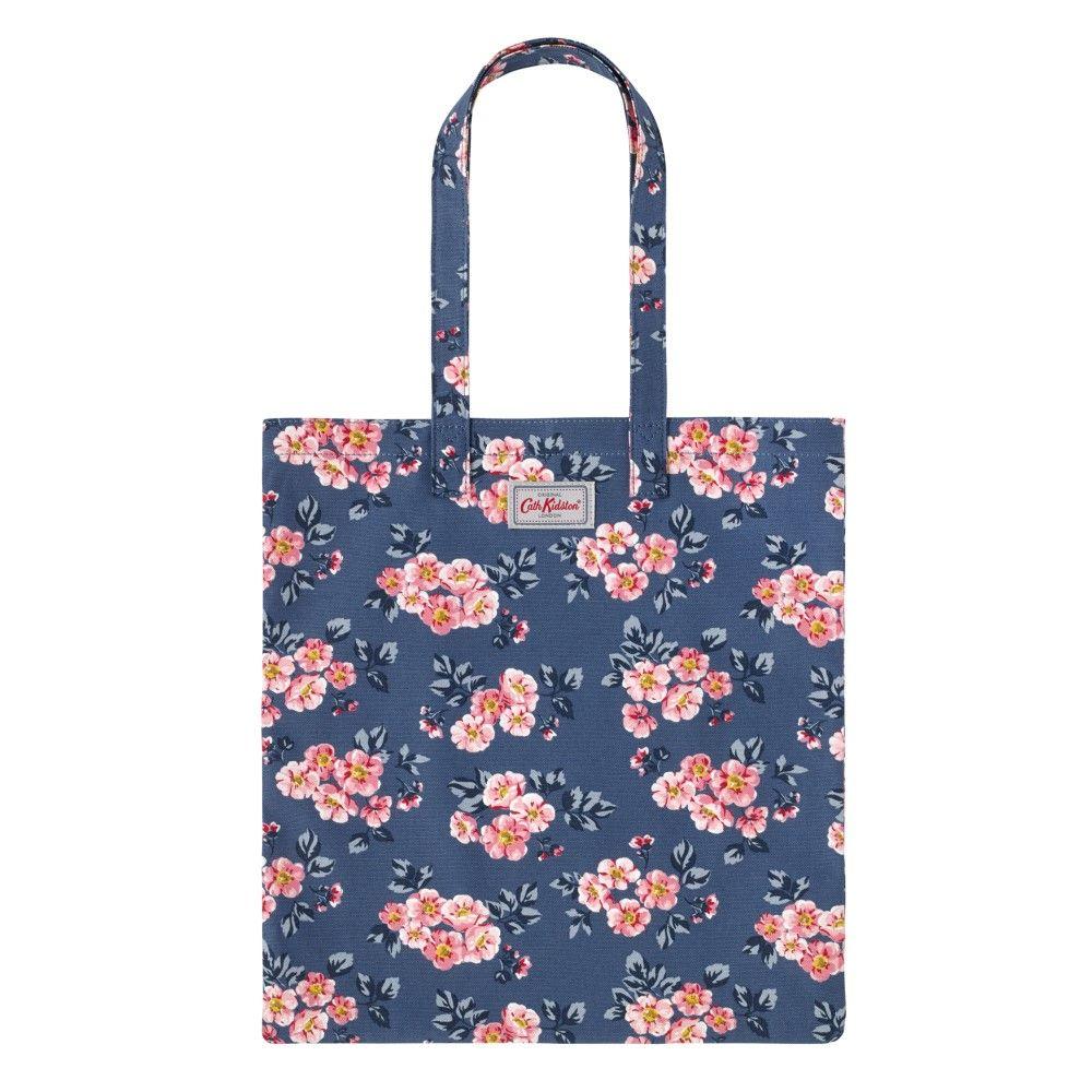 Cotton Bookbag - York Bunch Navy e03ce0fec535b