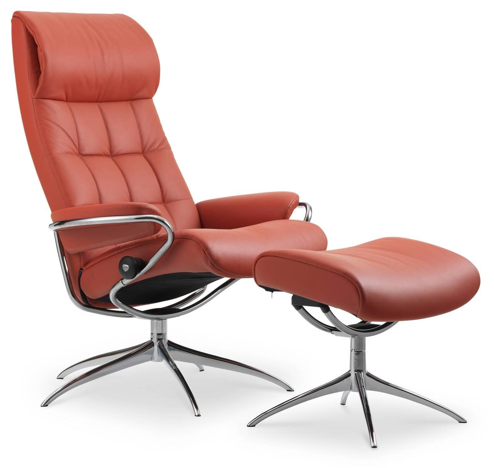 Excellent Stressless London High Back Star High Base Chair Stool Alphanode Cool Chair Designs And Ideas Alphanodeonline