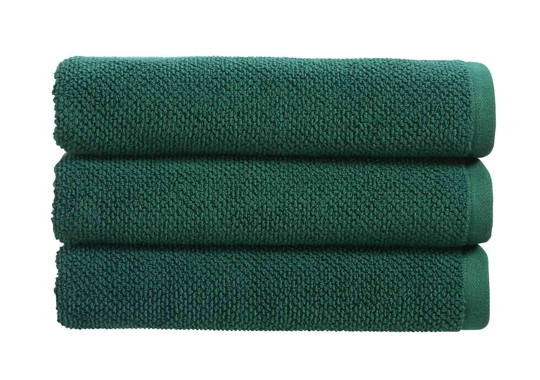 Christy Brixton Textured Towel Emerald