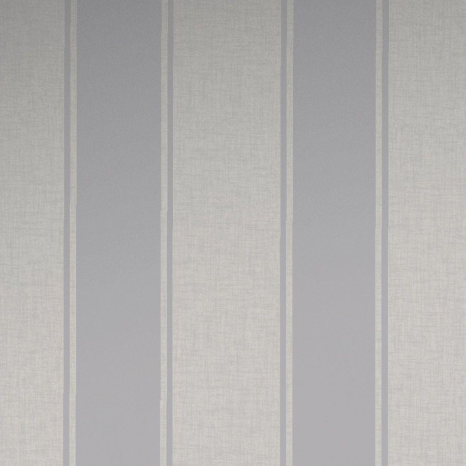 Arthouse Luxe Stripe Silver Wallpaper