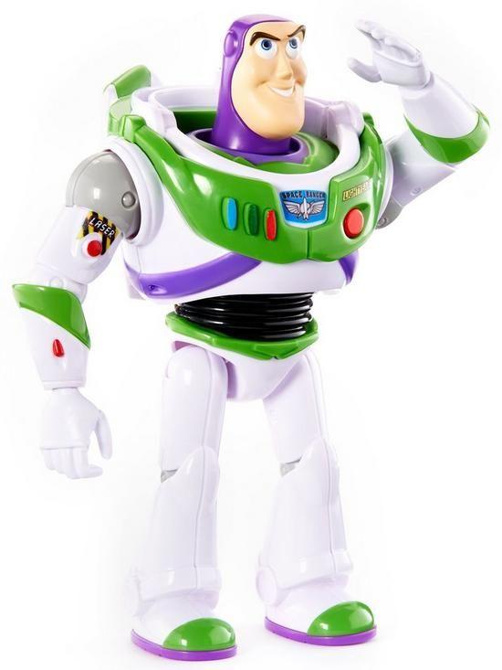 Toy Story 4 True Talkers Buzz Lightyear Figure Oldrids