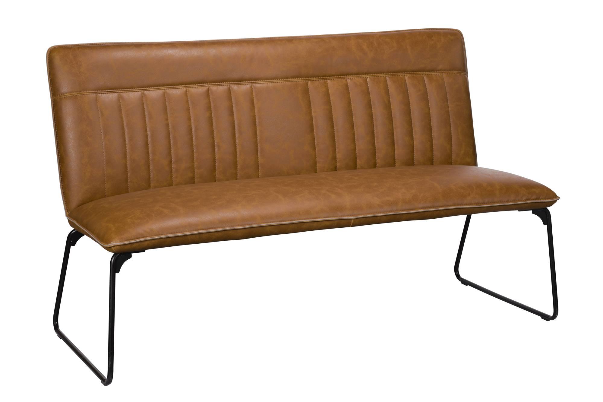 Astounding Soho Cooper C174 Dining Bench Tan Machost Co Dining Chair Design Ideas Machostcouk