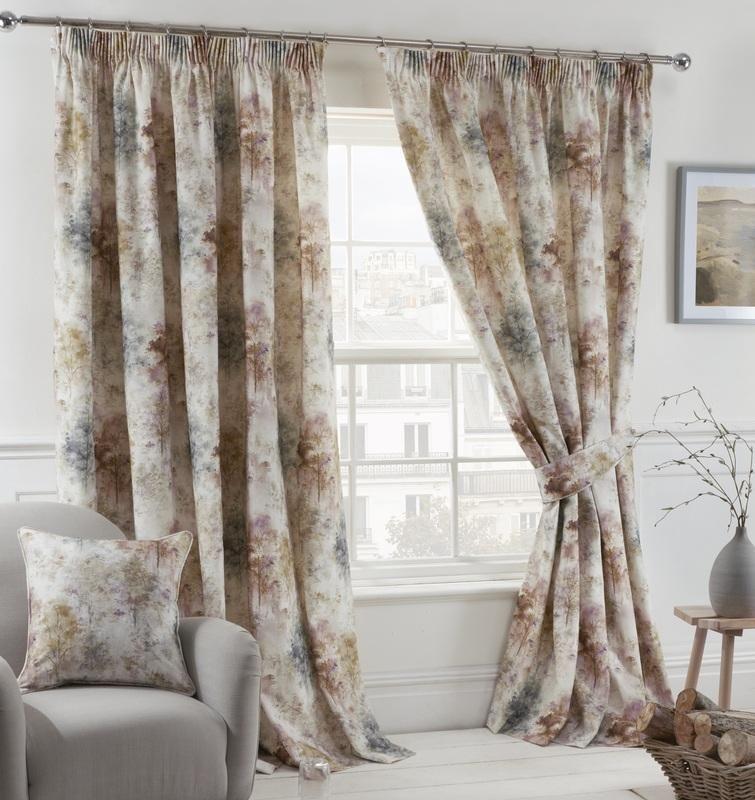 Sundour Woodland Blush Curtains Oldrids Downtown