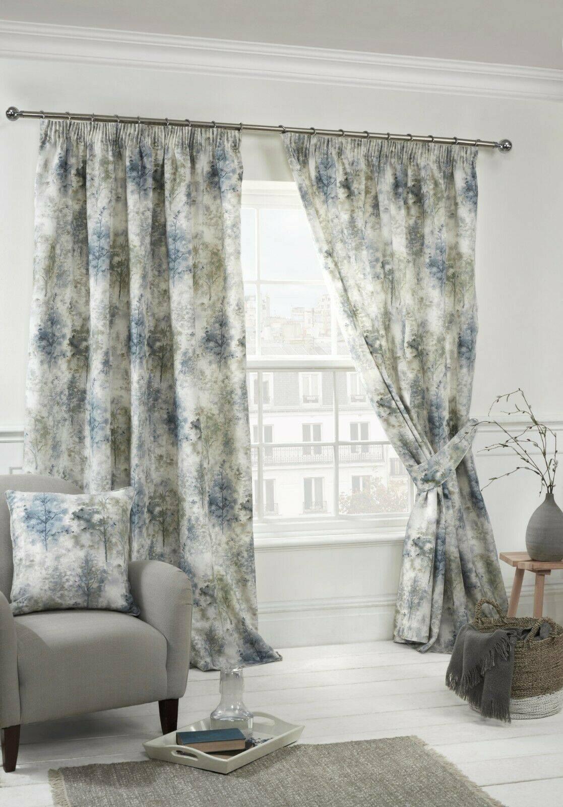 Sundour Woodland Blue Curtains Oldrids Downtown