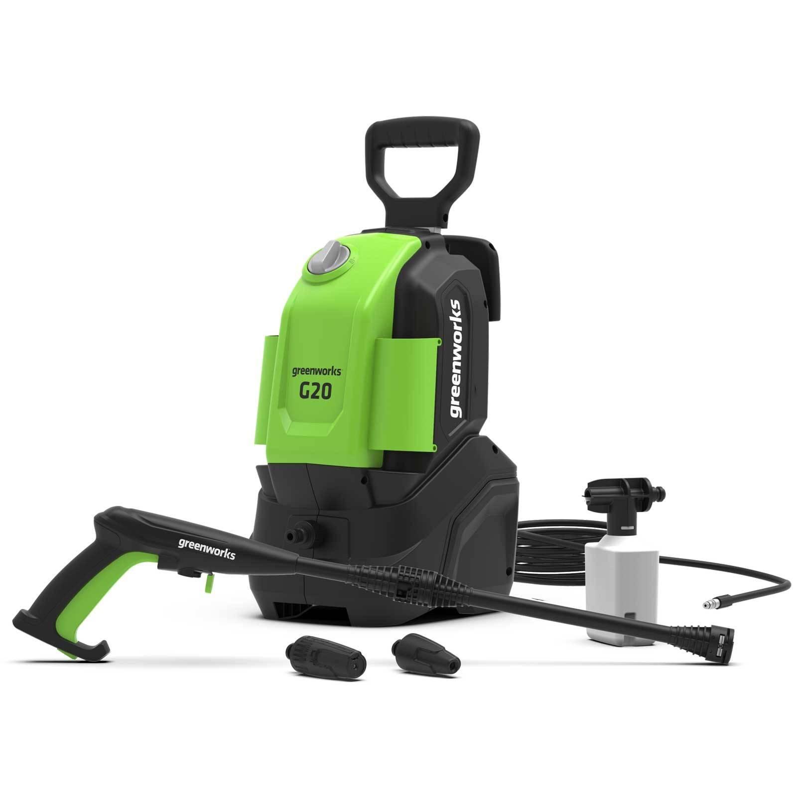Greenworks G20 Pressure Washer with Patio Brush