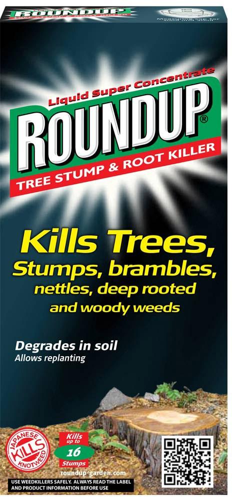 Roundup Tree Stump Amp Root Killer 250ml Oldrids Amp Downtown