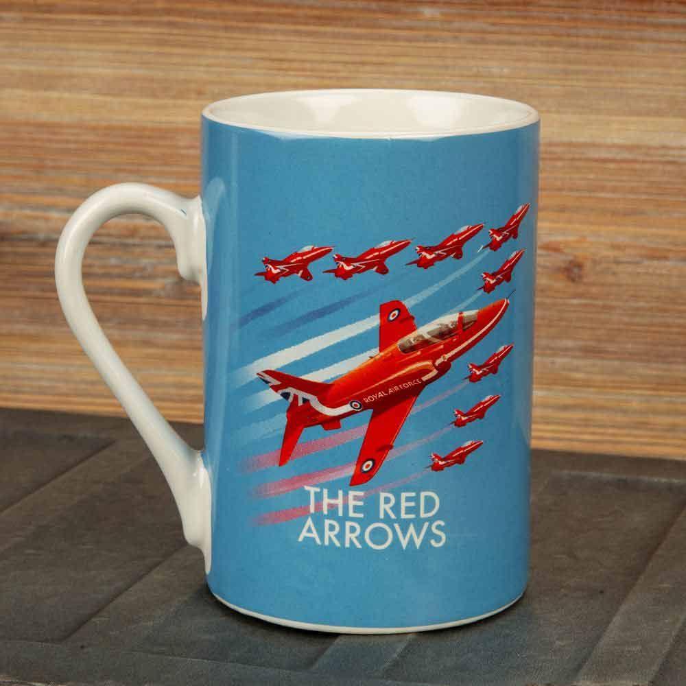 Military Heritage RED ARROWS  mug