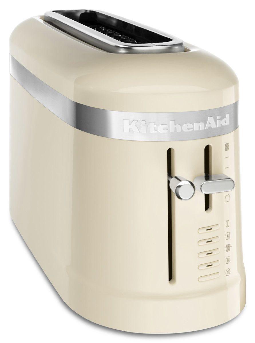 Kitchenaid 5kmt3115bac Design 2 Slot Toaster Almond Cream