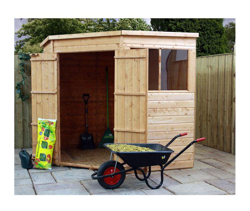 mercia 7x7 shiplap corner shed - Corner Garden Sheds 7x7