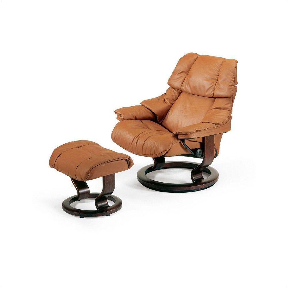 Astonishing Stressless Reno Chair Stool Set Creativecarmelina Interior Chair Design Creativecarmelinacom