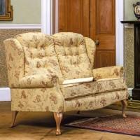 Sherborne Lynton Fireside Fabric Settee