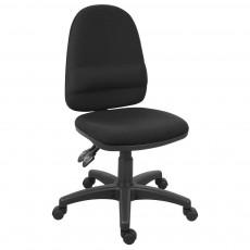 Teknik Ergo Twin Lever Black Office Chair