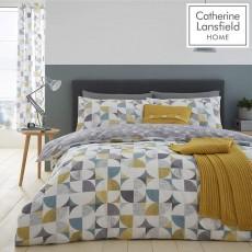 Catherine Lansfield Retro Circles Quiltset