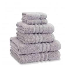 Catherine Lansfield Zero Twist Silver Towel