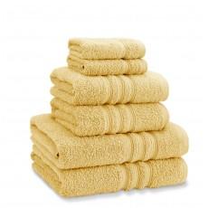 Catherine Lansfield Zero Twist Ochre Towel