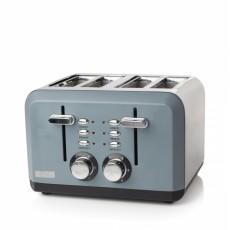 Haden 183453 Perth 4 Slice Toaster - Slate Grey