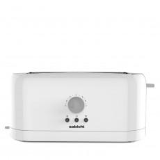 Sabichi 189127 White 4 Slice Toaster