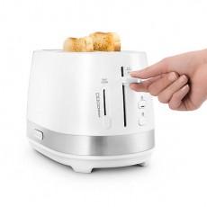 De'Longhi CTLA2013.W Active 2 Slice Toaster - White