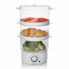 Sabichi 3 Tier Food Steamer - White 89557