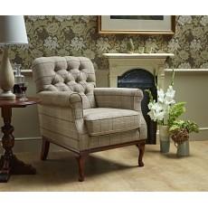 Wood Bros Burnham Fabric Armchair