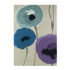 Sanderson Poppies Indigo/Purple 45705 Rug