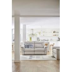 G Plan Elliot 2 Seater Fabric Static Sofa