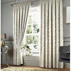 Curtina Anderton Chenille Natural Curtains