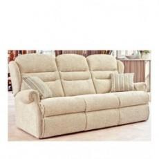 Sherborne Ashford Standard 3 Seater Fabric Fixed Sofa