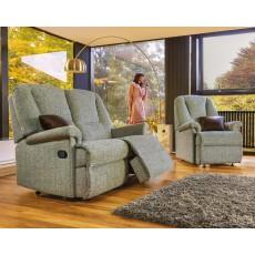 Sherborne Milburn Standard 2 Fabric Power Reliner Sofa