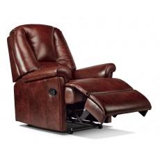 Sherborne Milburn Standard Leather Manual Recliner Chair
