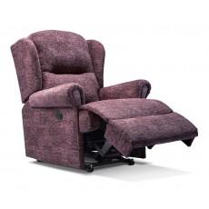 Sherborne Malvern Small Fabric Power Recliner Chair