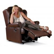 Sherborne Malvern Standard Leather Manual Recliner Chair