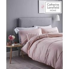 Catherine Lansfield Pom Pom Quiltset Blush