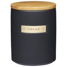 Masterclass Ceramic Black Sugar Canister