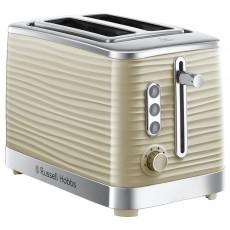 Russell Hobbs 24374 Inspire 2 Slice Toaster - Cream