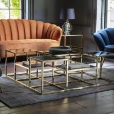 Santorini Gold Coffee Table
