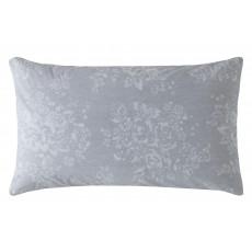 Cath Kidston Washed Rose Standard Pillowcase Pair Grey