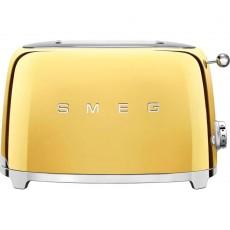 SMEG TSF01GOUK 2 Slice Toaster - Gold
