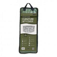 Garland Premium 6 Seater Round Furniture Cover - Green