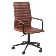 Winslow Cognac Office Chair