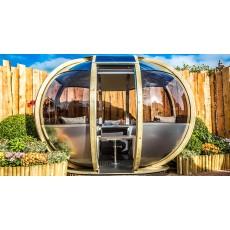 Ornate Garden Oval House
