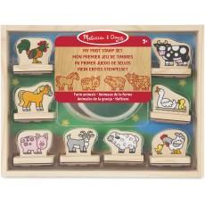 Melissa & Doug My First Stamp Set - Farm Animals