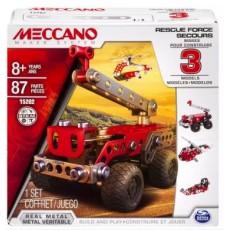 Meccano 3 Model Set - Rescue