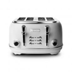 Haden 196323 Heritage 4 Slice Toaster - Grey